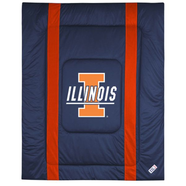 Illinois Fighting Illini Twin Size Sideline Comforter - $79.99