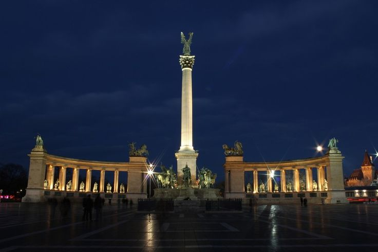 Budapest: Hősök tere