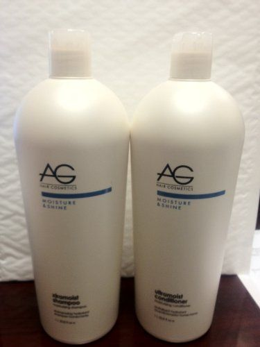 Ag Xtramoist Moisturizing Shampoo and Moisturizing Treatment Liter Each by AG Hair Cosmetics. $49.99. Ag Xtramoist Moisturizing Shampoo and moisturizing Treatment 1liter each. Ag Xtramoist Moisturizing Shampoo and moisturizing Treatment 1liter each  Product Description xtramoist moisturizing shampoo champu humectant AG Xtramoist shampoo, containing a potent blend of naturally occurring moisture binders, amino acids and protein is formulated to gently cleanse, re-hyd...