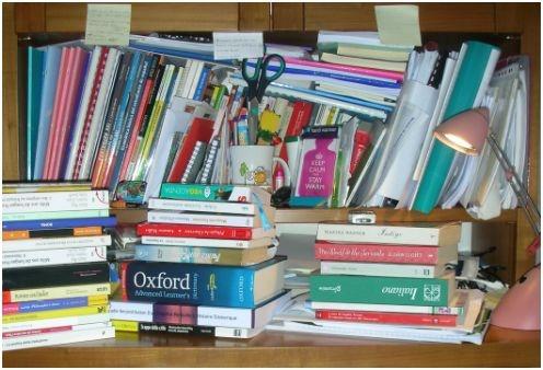 Quando spuntano i papaveri: My desk is a mess!