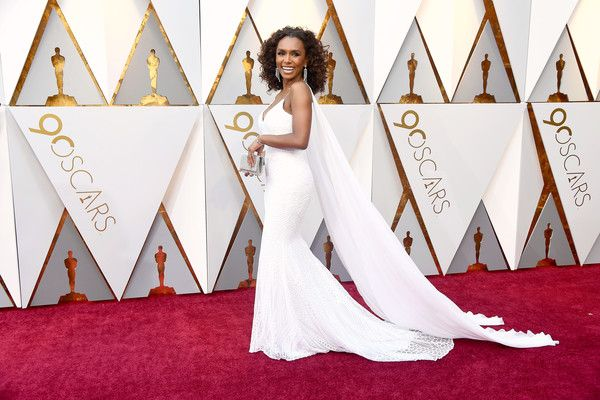 Janet Mock attends the 90th Annual Academy Awards at Hollywood & Highland Center on March 4, 2018 in Hollywood, California.