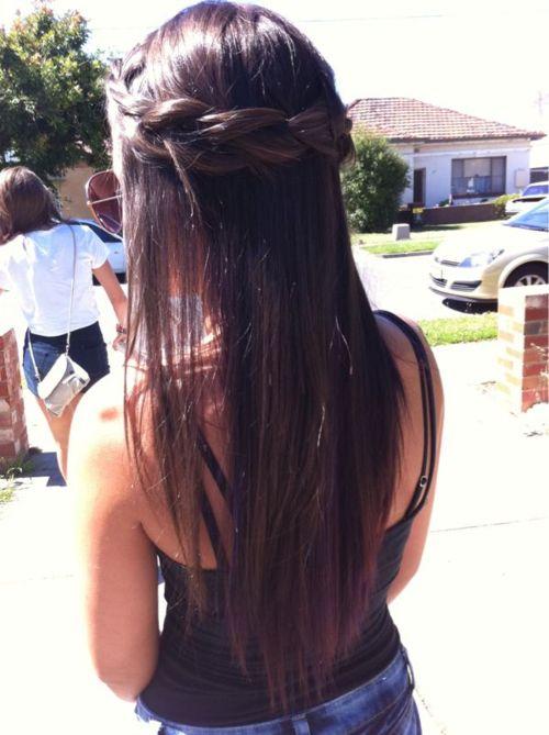 Hair.: Hair Ideas, Hairstyles, Long Hair, Makeup, Beautiful Hair, Braids Crowns, Hair Style, Crowns Braids, Braids Hair