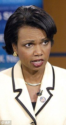 Condoleeza Rice hung up on George Bush in the the aftermath of 911 ...