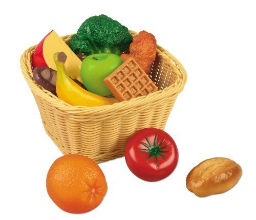 Toy Food For Toddlers : Toddler play food set by lakeshore learning materials