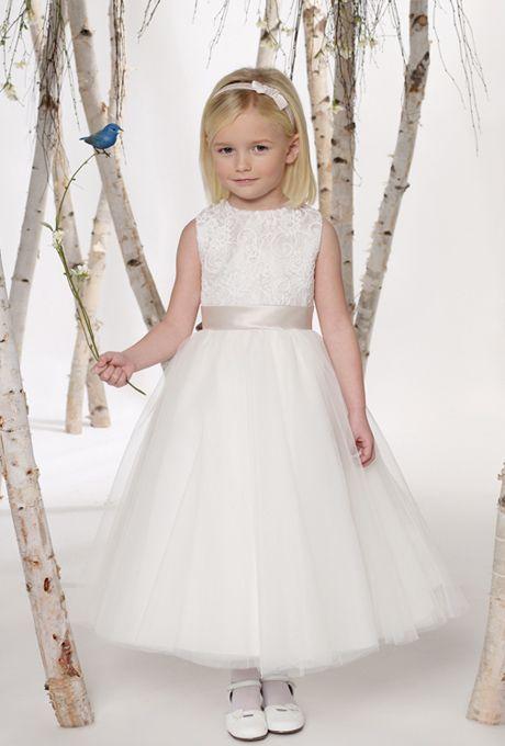 Joan Calabrese for Mon Cheri - 211301 - Flower Girl Dress