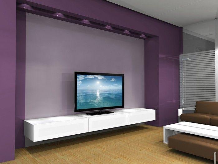 Nice wall mounted TV unit