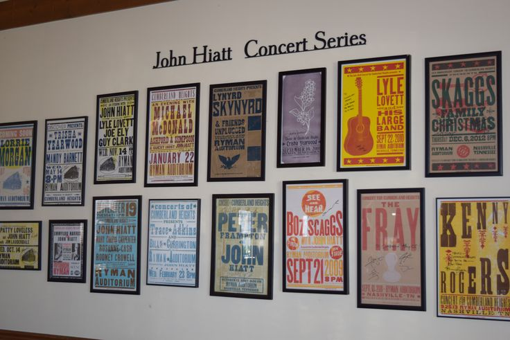 **Transformation Tuesday**  Check out the newly rehung Concert for Cumberland Heights posters in the Dining Hall!