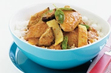 Thai red curry chicken curry