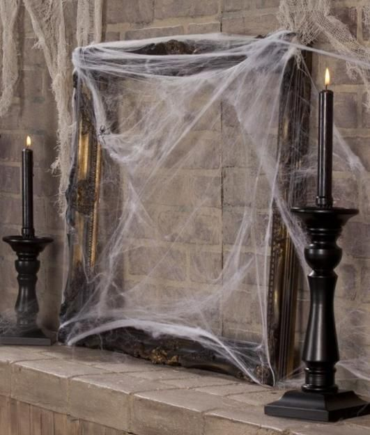 20 scarily charming halloween decorating ideas in vintage style - Creative Halloween Decorating Ideas
