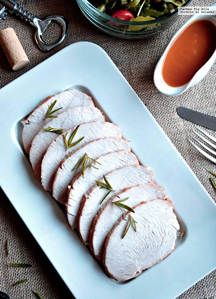 Te explicamos paso a paso, de manera sencilla, cómo hacer la receta de redondo de pavo y manzana. Tiempo de elaboración, ingredientes,