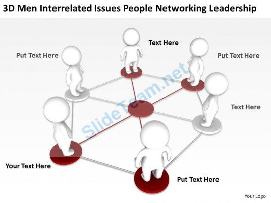3D men Interrelated Issues People Networking Leadership Ppt Graphics Icons #Powerpoint #Templates #Infographics