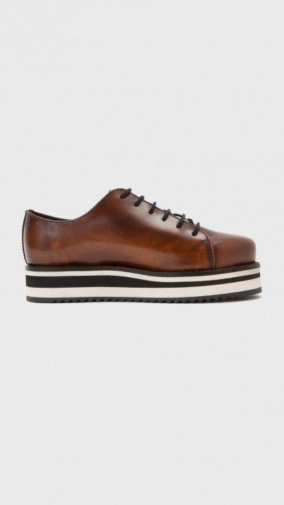 Hope Pave Shoe in Brown | The Dreslyn