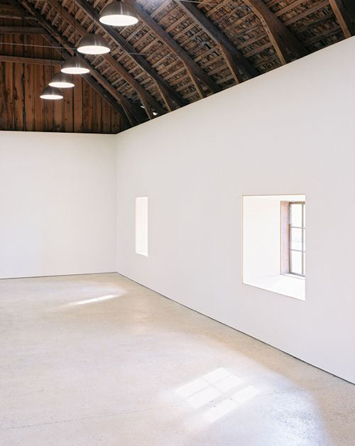 Converted barn space.