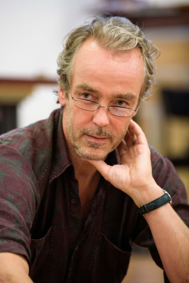 John Hannah - The Titanic Orchestra - in rehearsals
