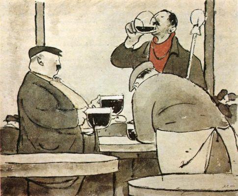 Улыбка и жизнь: рисунки Леонида Сойфертиса в Государственном музее А.С. Пушкина