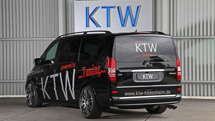 Mercedes Viano preparada por KTW Tuning