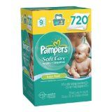 Pampers Pampers Softcare Baby Fresh Wipes 10x Box With Tub 720 Count (Health and Beauty)By Pampers