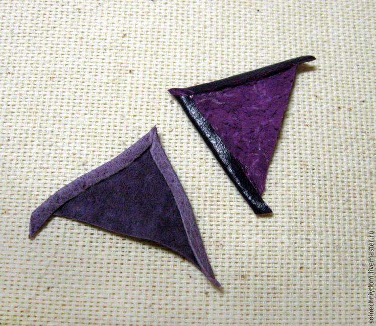 Создаем овальный кулон из кожи и кабошона - Ярмарка Мастеров - ручная работа, handmade