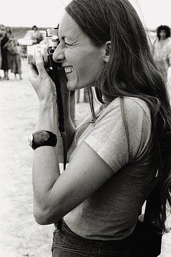 """Mary Ellen Mark, 1975   """"an American photographer known for her photojournalism, portraiture, and advertising photography. She has had 16 collections of her work published and has been exhibited at galleries and museums worldwide. She has received numerous accolades, including three Robert F. Kennedy Journalism Awards and three fellowships from the National Endowment for the Arts."""""""