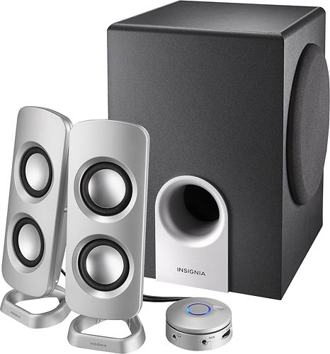 Powered Computer Speakers with Subwoofer (3-Piece), Read customer reviews and buy online at Best Buy.