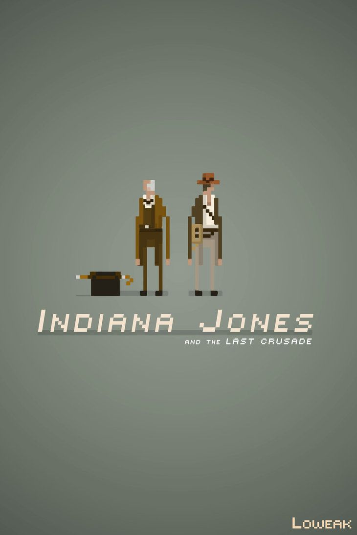 Pixel Art Indiana Jones by ~Loweak on deviantART