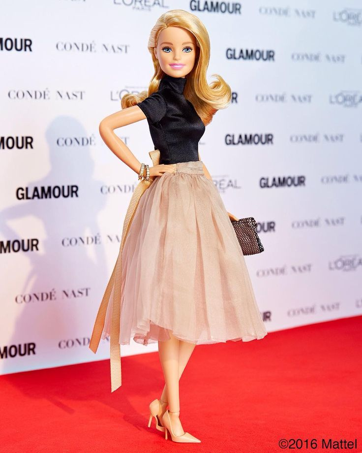 It's time to celebrate! All of the @glamourmag Women of the Year deserve enormous recognition! Comment below with who inspires you most. #GlamourWOTY #barbie #barbiestyle