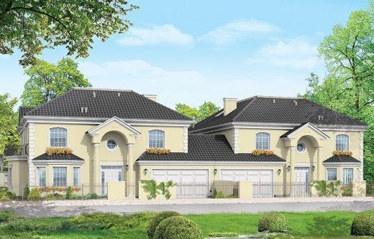 Projekt Komorów to rzadko spotykane połączenie klasycznej willowej architektury z formą budynku bliźniaczego. Jednak w dobie wysokich cen atrakcyjnych gruntów, może okazać się ciekawe. Ponadto w czasie gdy wielu Inwestorów decyduje się na budowę dwóch domów - aby po sprzedaży jednego zrekompensować część kosztów budowy. Budowa budynków bliźniaczych staje się coraz modniejsza.