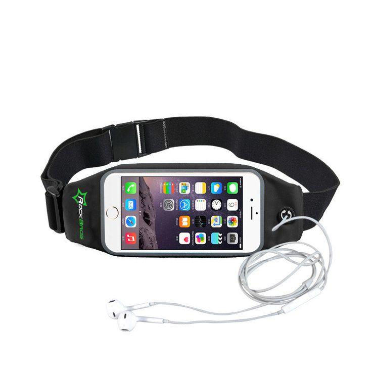 ROCKBROS D22-1 Waist Bag Running Belt Touch Screen Waterproof Phone Case for under 6 inches Phone