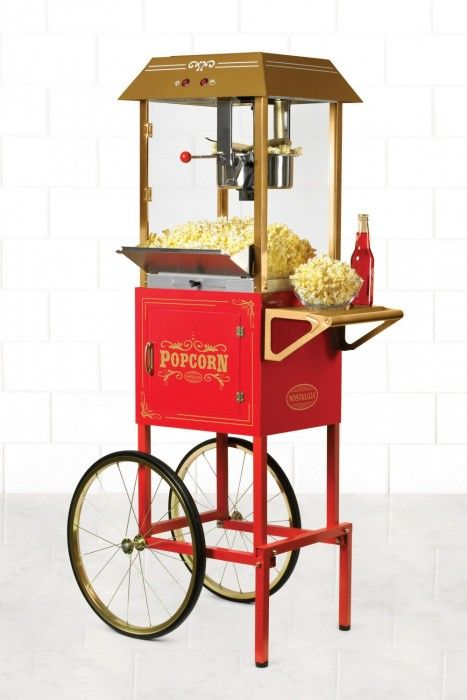 Popcorn - Vintage | Nostalgia Electrics   Quick View CCP1000 | Vintage Collection™ 10 Oz. Popcorn Cart