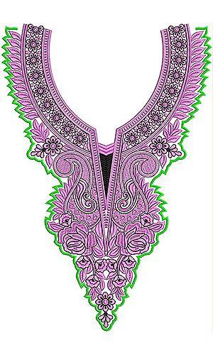 Latest Jalabiya Embroidery Design