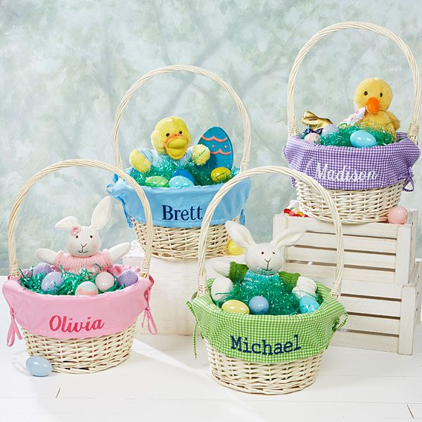 177 best gift shop kitty kat koutique images on pinterest baby personalized jumbo easter basket solid or checked liner with this personalized jumbo easter basket any negle Images