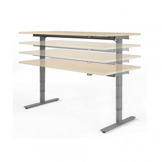 Elektrisch höhenverstellbarer Schreibtisch Geramöbel Flex