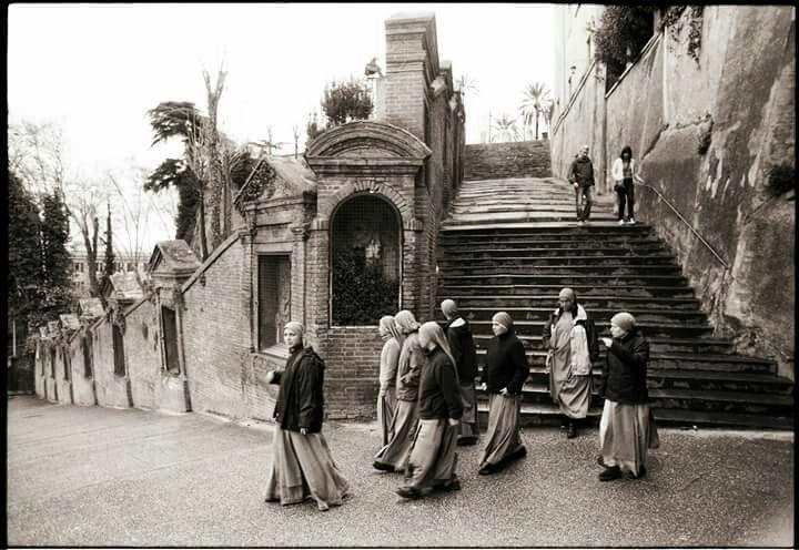 Photo Claudio Patrizi  Suore a San Pietro in Montorio.