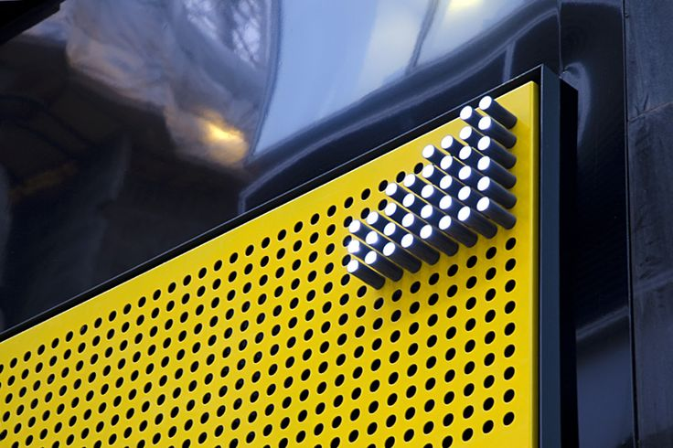 illuminated pegboard sign and great system of exhibition stands by www.dnco.com