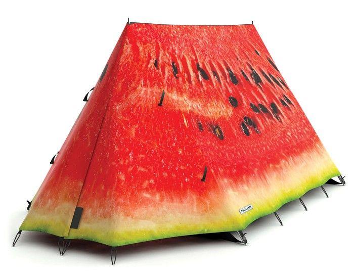 tentIdeas, Fieldcandi Tents, Camps Tents, Stuff, Camping, Outdoor, Watermelon Tents, Fun, Products