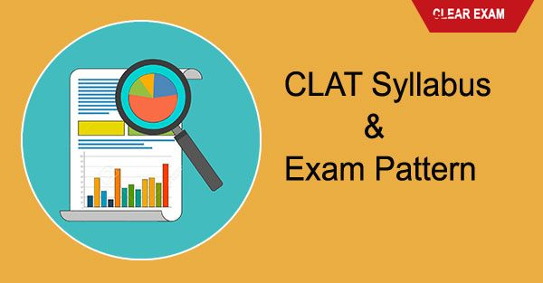 Clat Exam Syllabus 2018 Common Law Admission Test Clat Is A National Level Entrance Exam Check Here Exam Syllabus Of Clat 2018 Syllabus Exam Entrance Exam