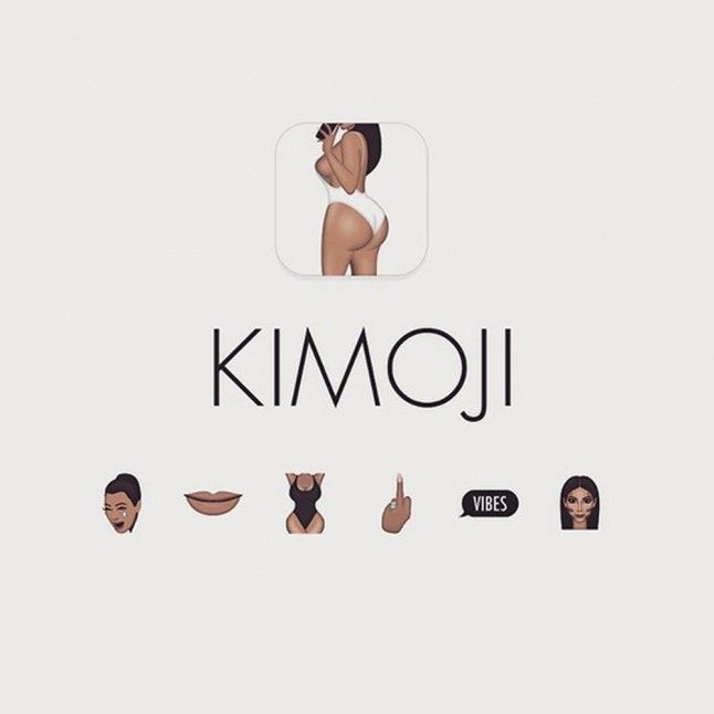 Kim Kardashian launches Kimojis, the Kim Kardashian emojis!
