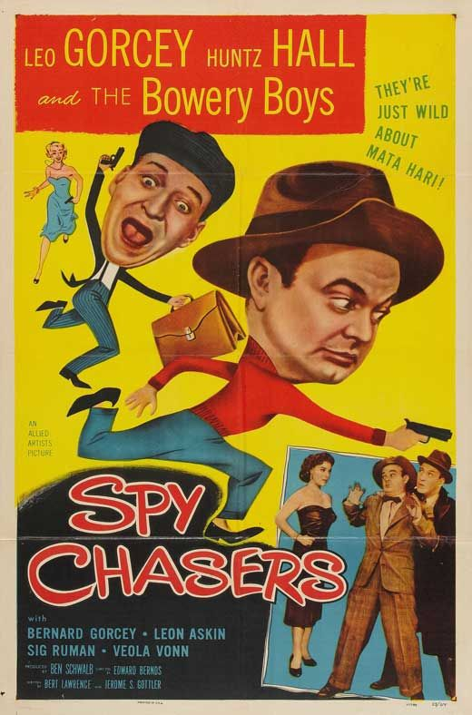 Ghost Chasers is a 1951 comedy film starring The Bowery Boys. Description from snipview.com. I searched for this on bing.com/images