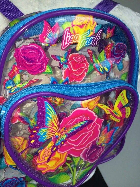 Lisa frank backpack