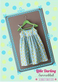 Kostenloses Schnittmuster für ein Sommerkleid 98-104