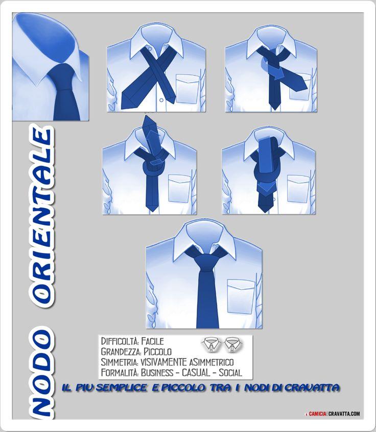 Come Fare Il Nodo Alla Cravatta: Nodo Orientale | Camiciaecravatta