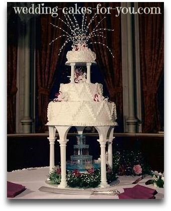 water fountain wedding cake 17 best ideas about wedding cakes on 21676