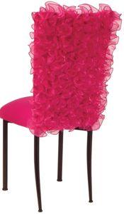Isabella Fuchsia Chameleon Chair Back