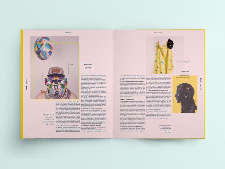 """다음 @Behance 프로젝트 확인: """"Revista Gluck"""" https://www.behance.net/gallery/33772034/Revista-Gluck"""