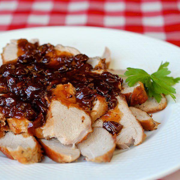 Paleo Pork Tenderloin with Dijon Marsala Sauce