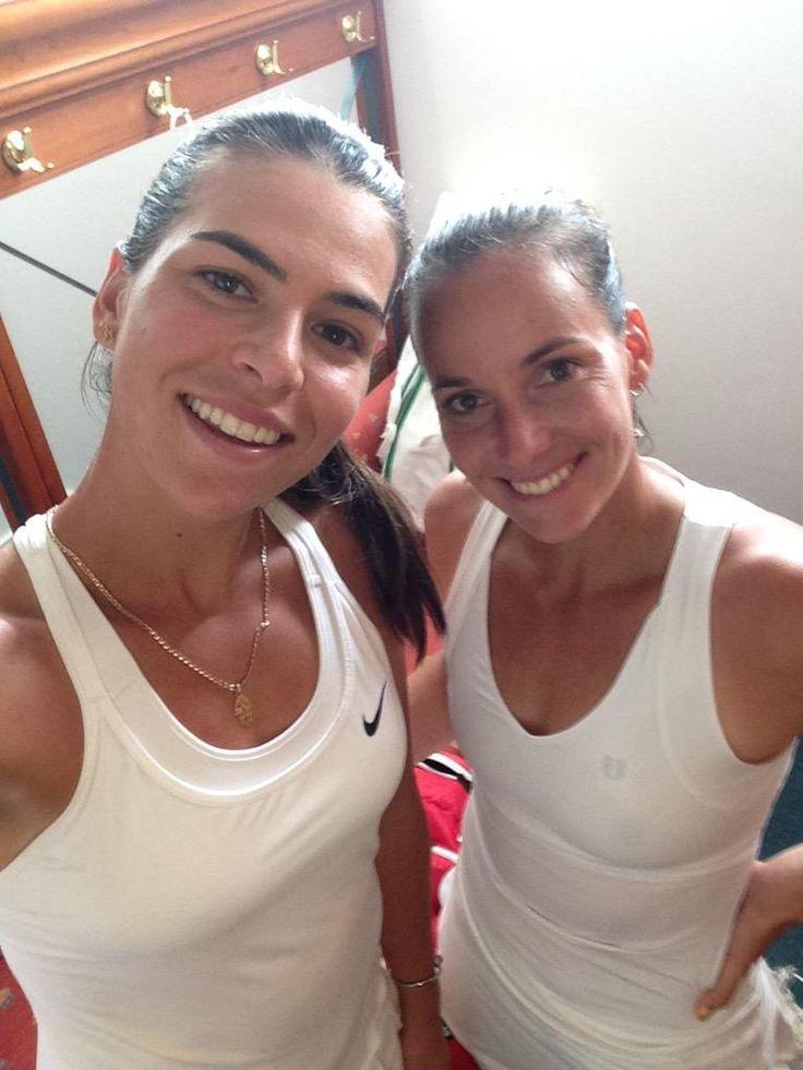 Ajla Tomljanovic and Jarmila Gajdosova