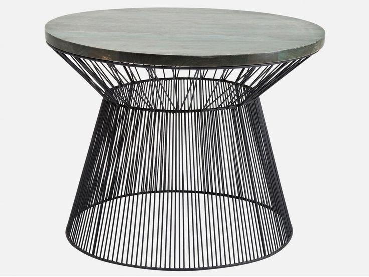 Stolik Kawowy Wire Taille — Ławy, Stoliki kawowe Kare Design — sfmeble.pl