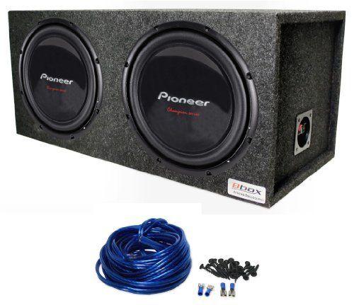 package 2 pioneer champion ts w309s4 12 2800 watt peak. Black Bedroom Furniture Sets. Home Design Ideas