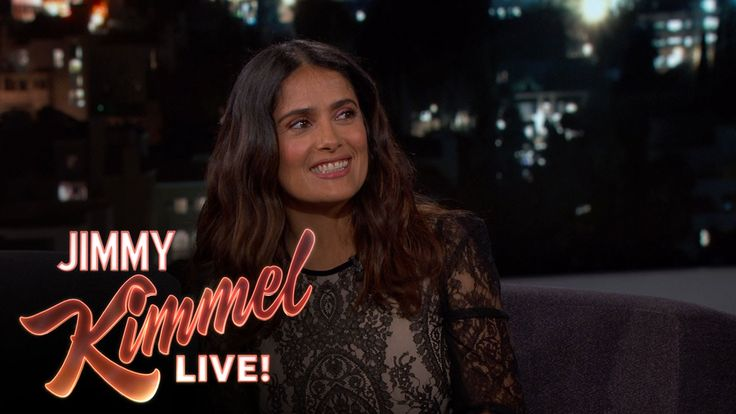 Salma Hayek's First Time Playing a Lesbian Taco