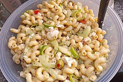 Griechischer Nudelsalat (Rezept mit Bild) von Kingbabadaniel | Chefkoch.de